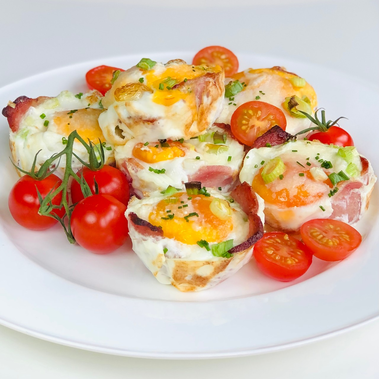 Baked Bacon Egg Cups