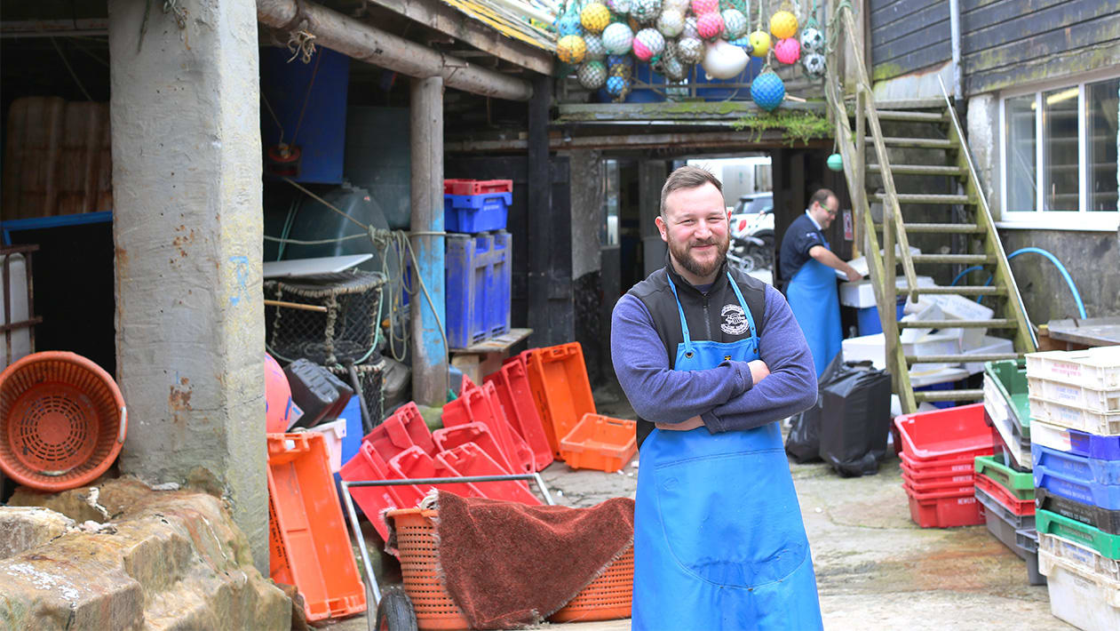 George Cleave Fish Filleting Workshop & Lunch