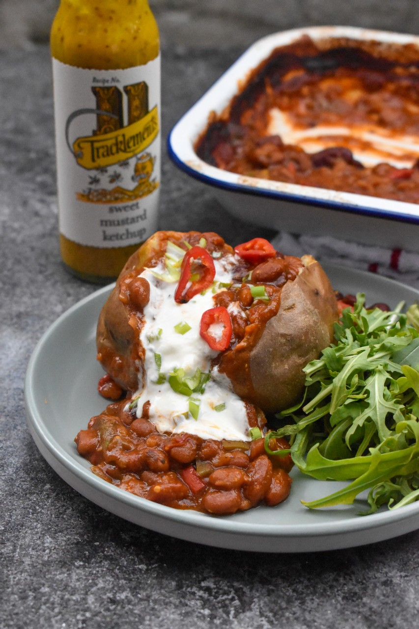 Spicy Barbeque Beans