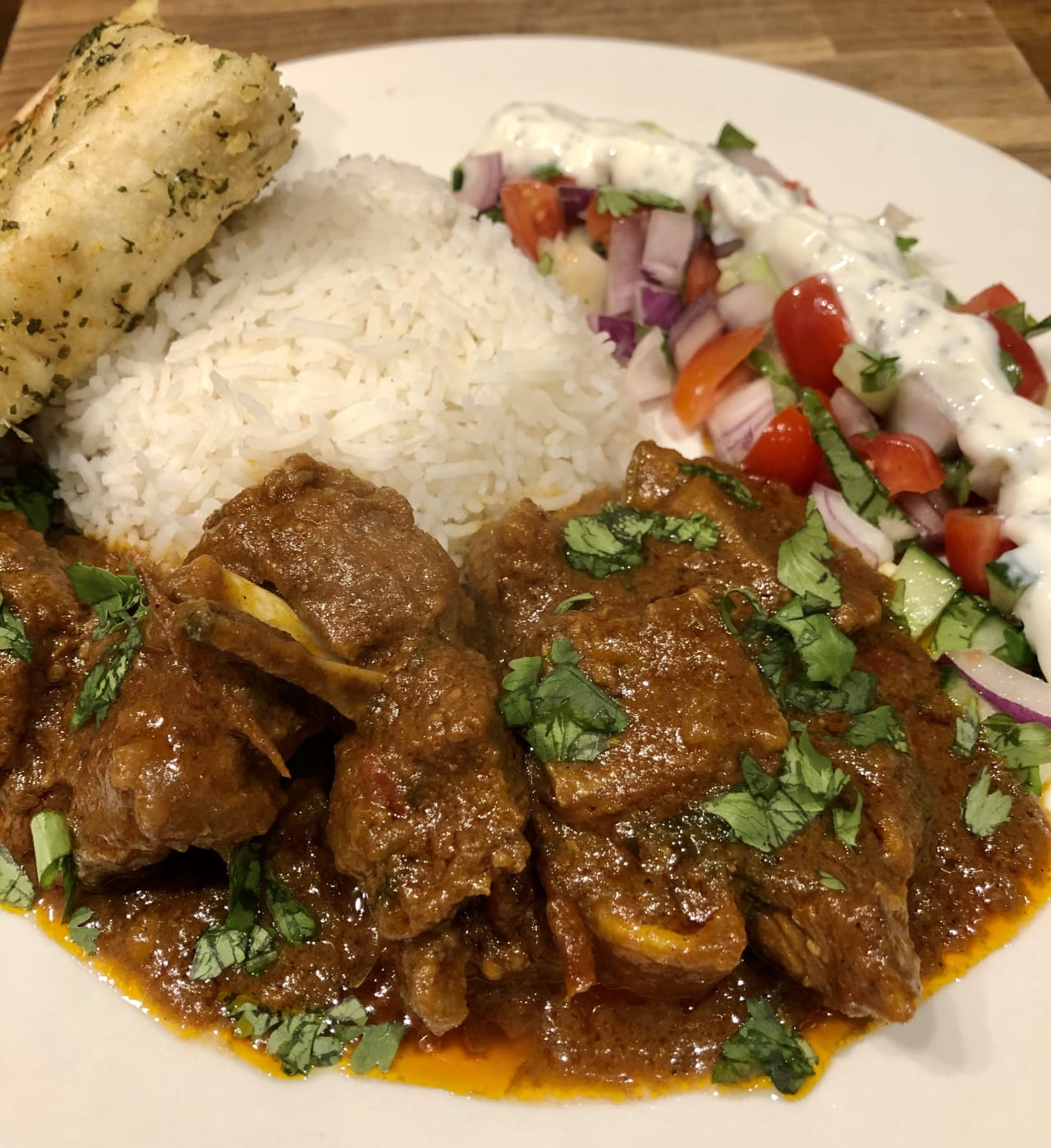 Indian mutton curry