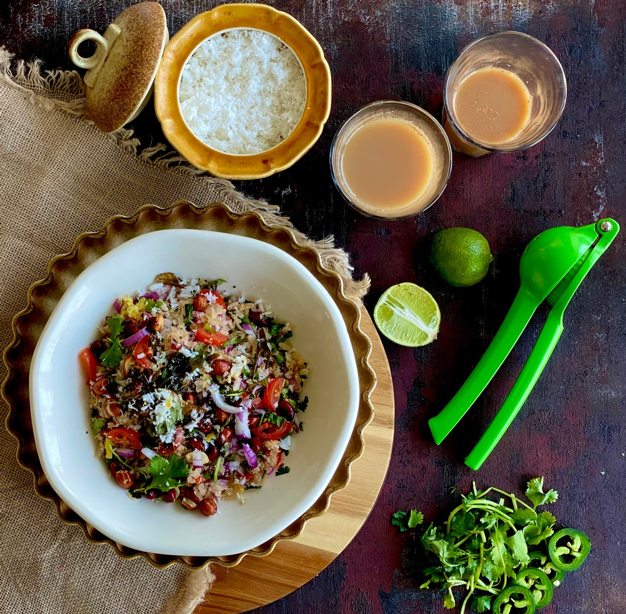 Dadpe Poha (Flattened Rice/Aval)