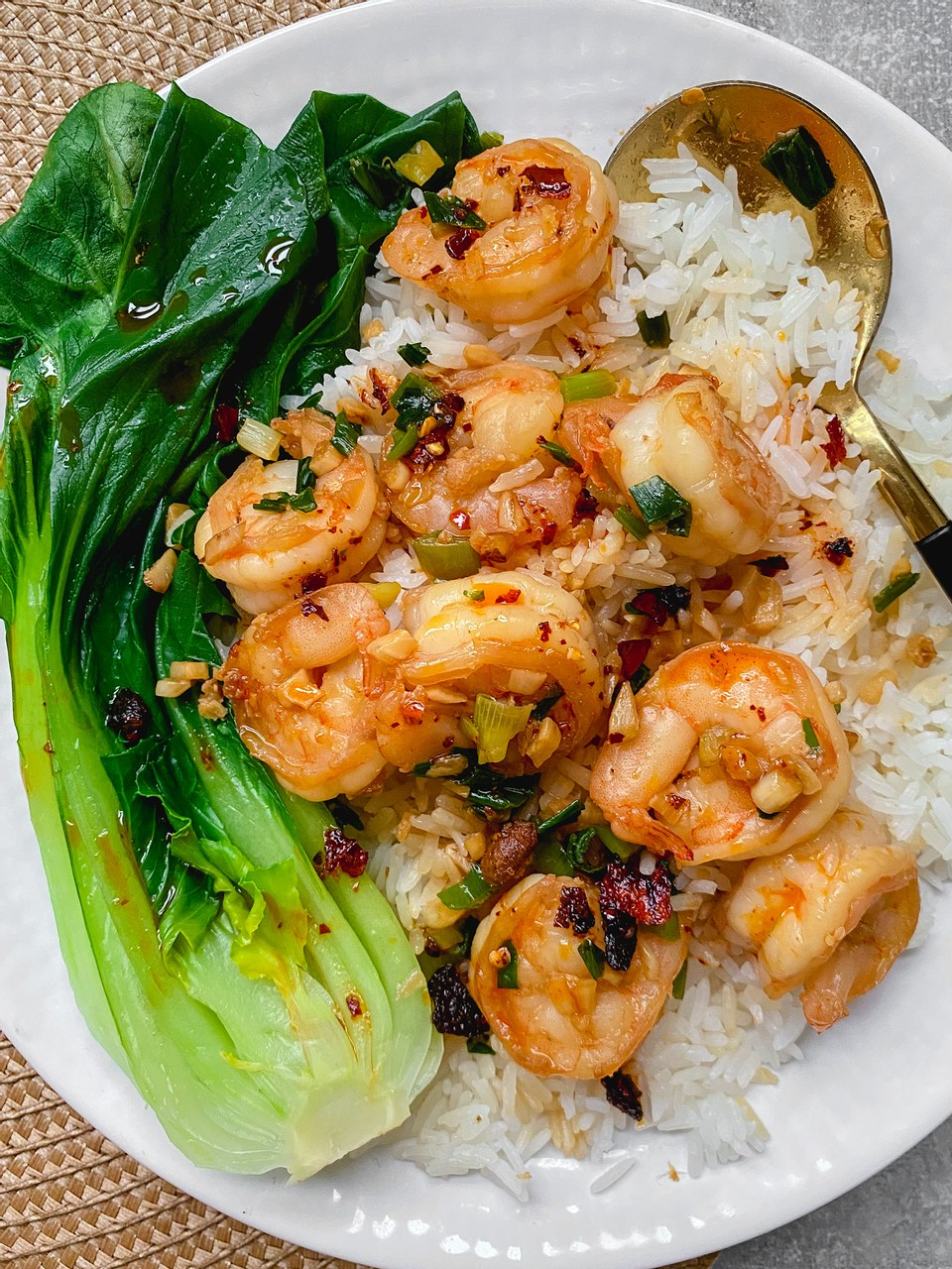 King Prawns with Garlic & Ginger