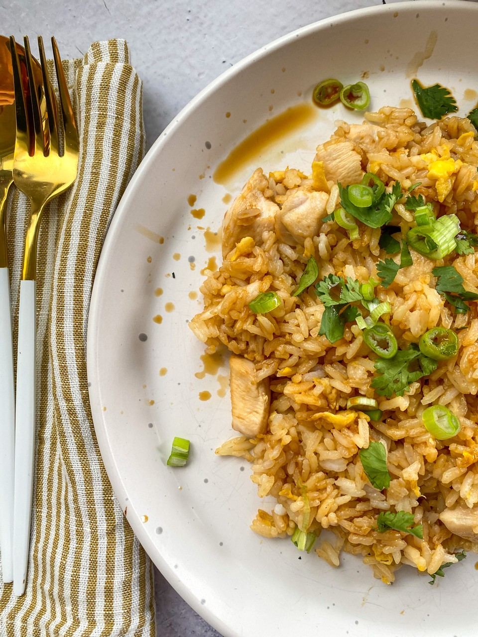 After School Chicken Fried Rice