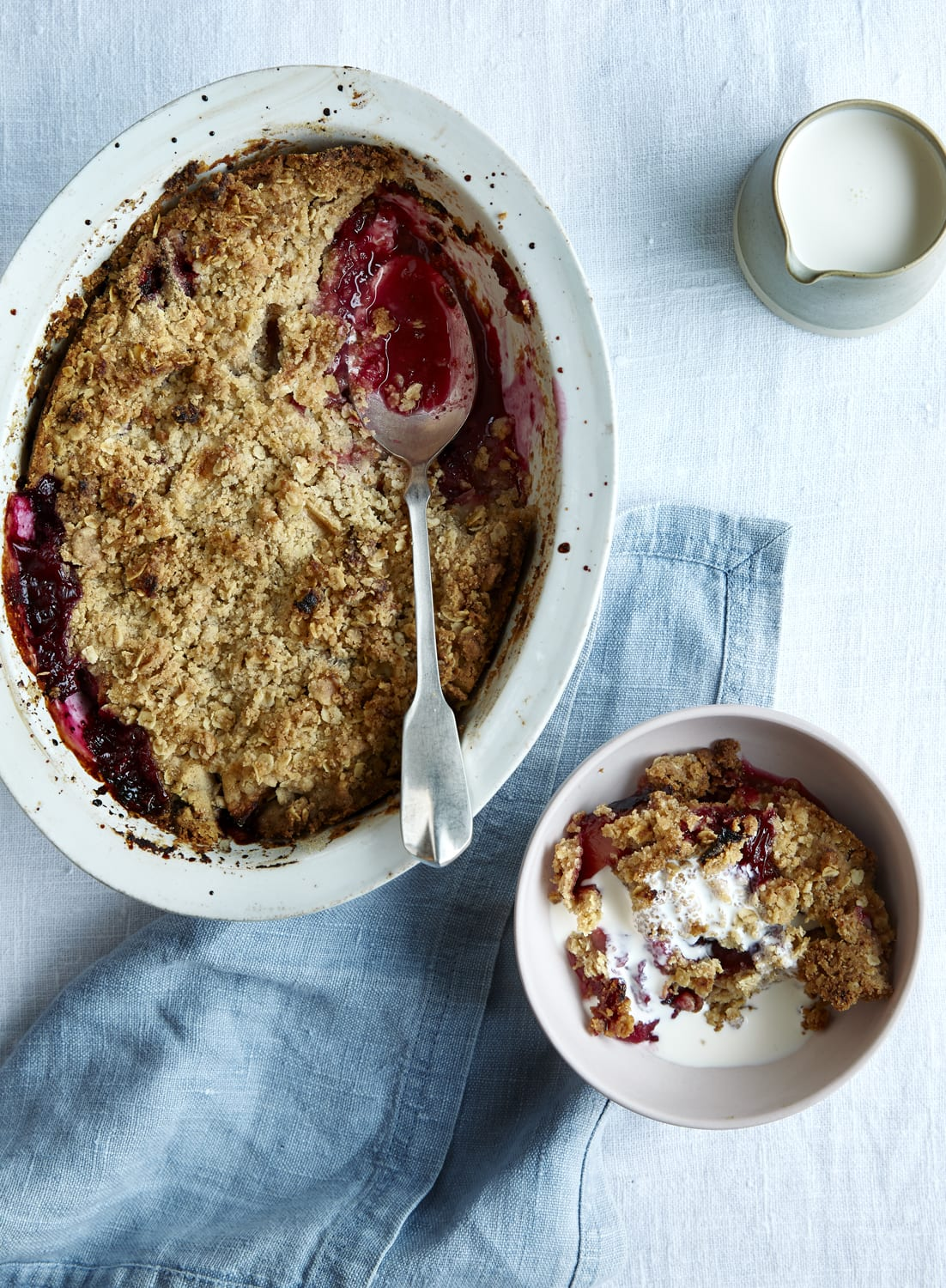 Flexible Fruit Crumble