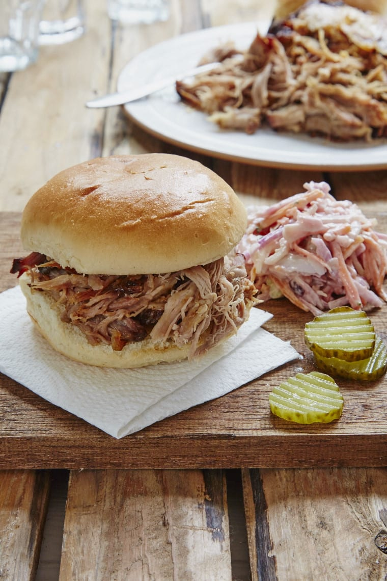 Slow Cooked Maple and Mustard Pulled Pork