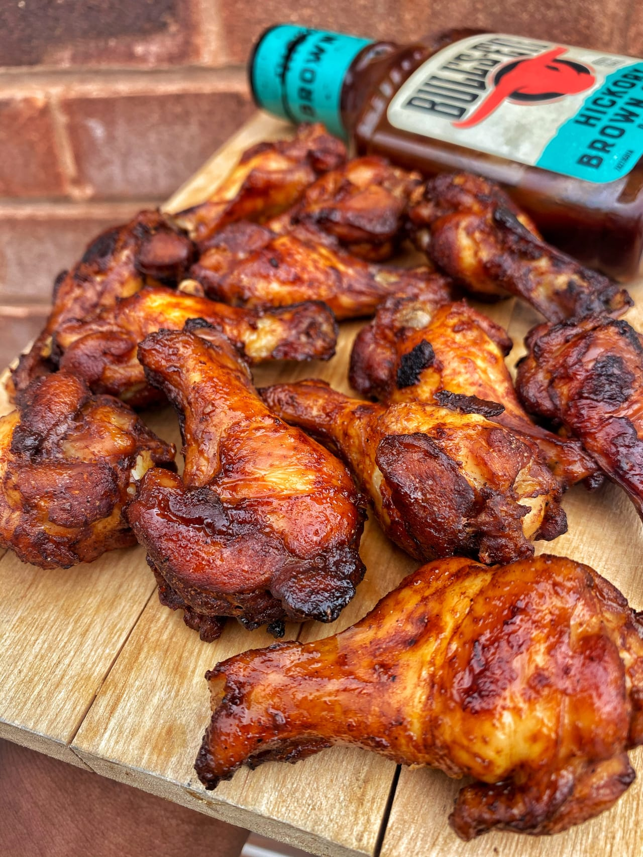 Super Simple Sticky Wings