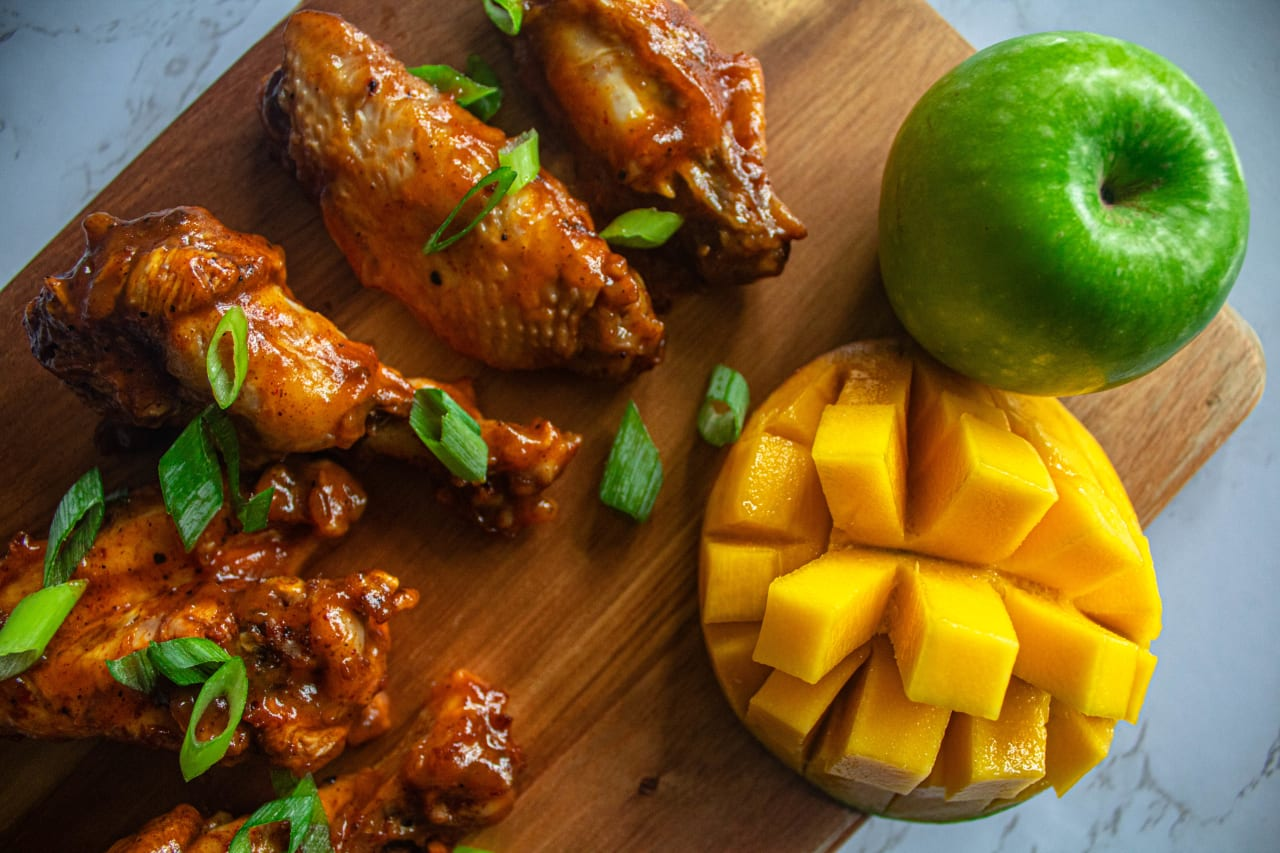 Mango and Apple Wings