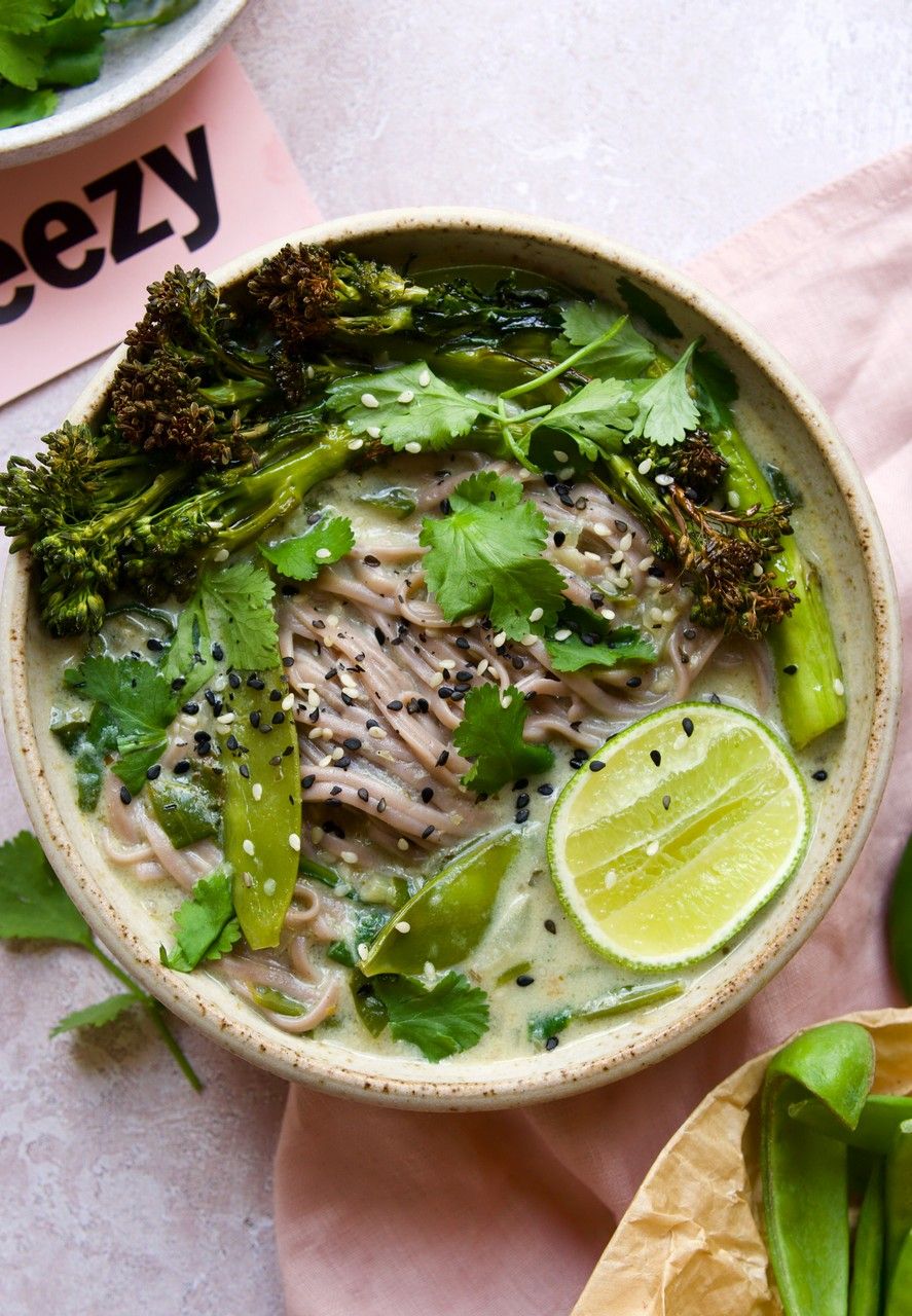 Thai Green Curry Noodle Bowl