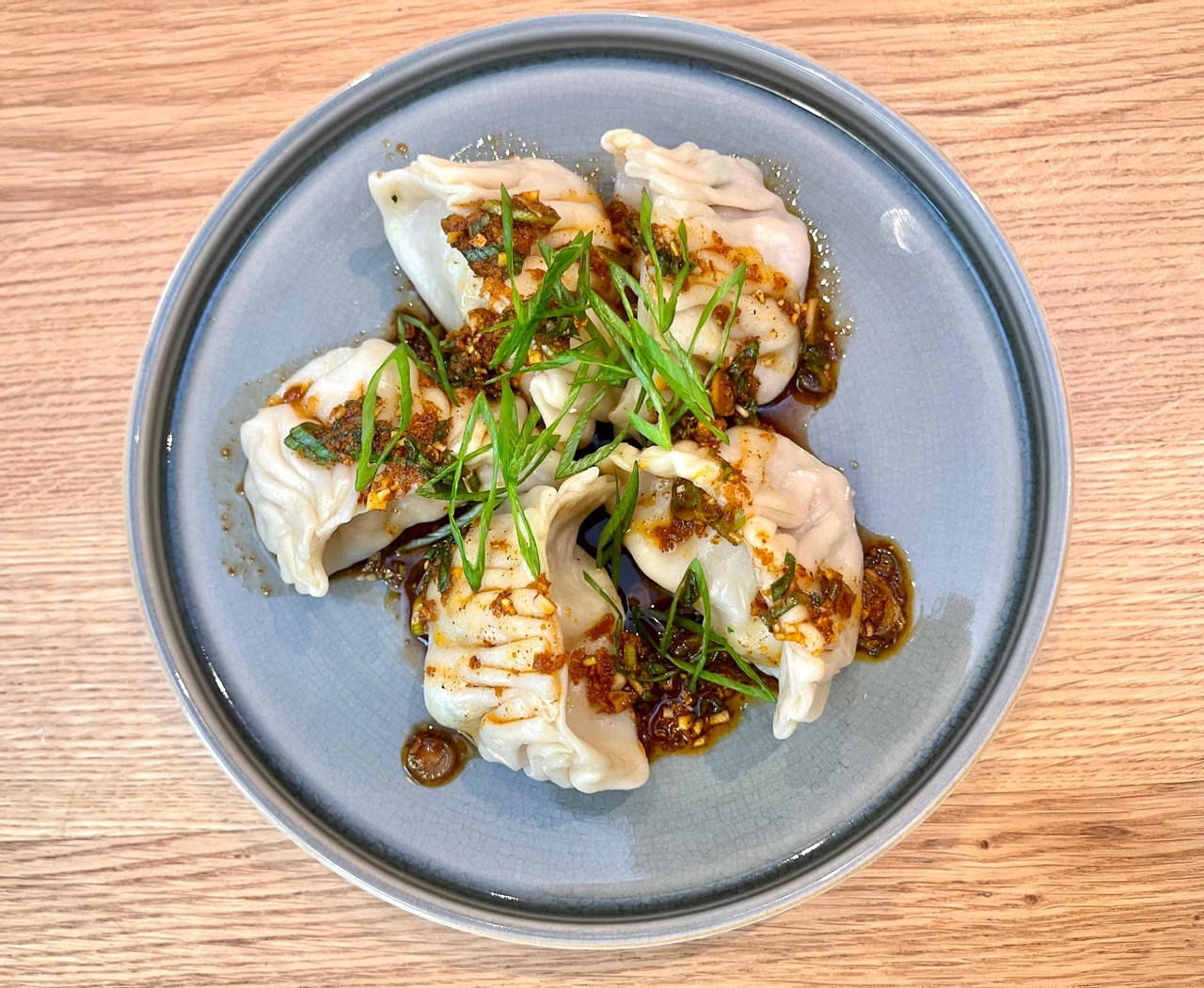 Pork and shrimp dumplings