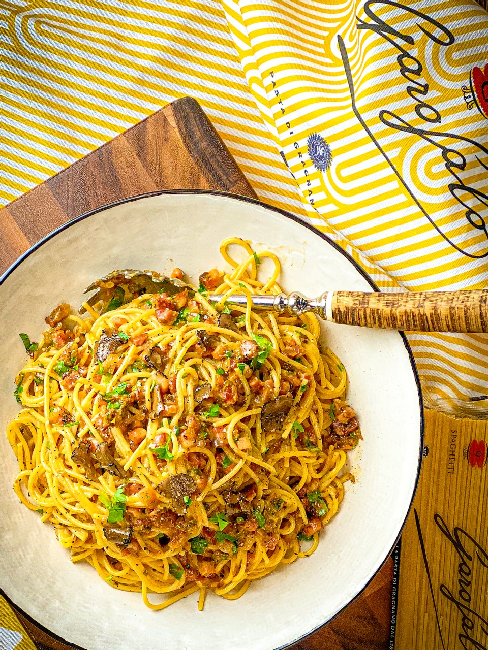 Pimped Up Carbonara With Truffle
