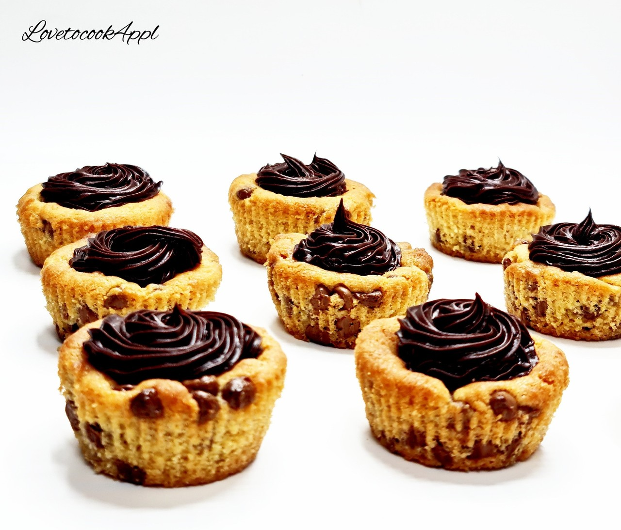 Cookie Cup Cakes